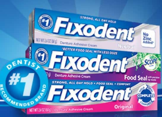 photo relating to Fixodent Coupons Printable identified as $2.00 Off Fixodent Solution! - Printable Coupon codes and Offers