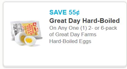 Great day hard boiled eggs