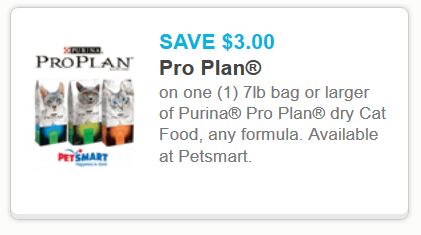 Pro plan cat food may