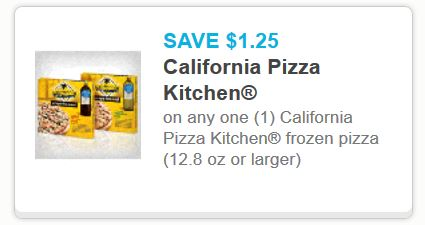 California Pizza Kitchen Printable Coupon