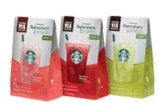 Starbucks refreshers June