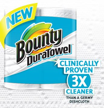 bounty dura towel