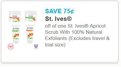 St ives printable coupons