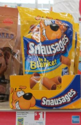 snausages family dollar