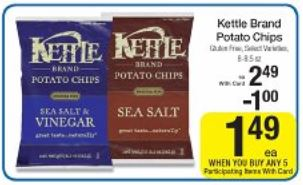 Kettle chips sept kroger