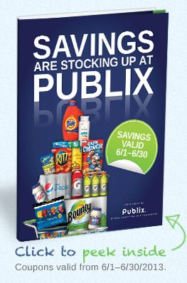 Publix stocking spree booklet
