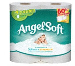 angel soft 4 double roll or larger