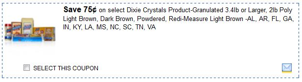 Dixie crystals oct