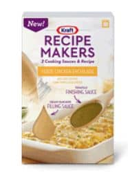 Kraft recipe makers oct