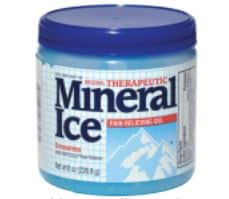 Mineral ice oct