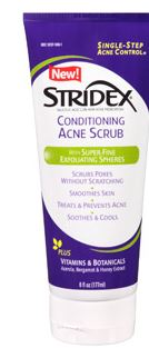 Stridex scrub