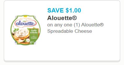 aloutte spreadable cheese