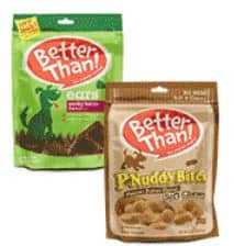 $1 off any One Package of Better Than Treats, any variety (Reset) $.50 each at the Dollar General