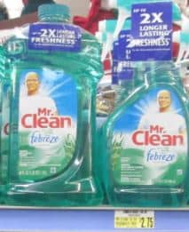 Freds mr clean cleaner