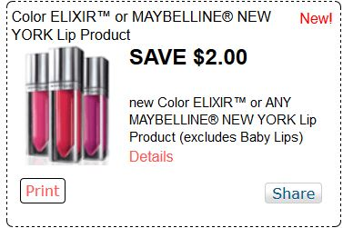 Maybelline cosmetics frequently have coupons for $$ off one product! The best prices are often at Target, Walmart and drugstores when paired with store coupons and rebates.