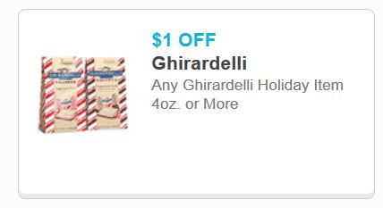 picture about Ghiradelli Printable Coupons known as Ghirardelli Vacation Products Printable Coupon - Printable