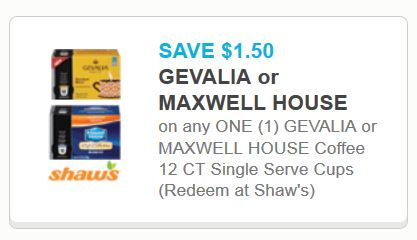 graphic about Gevalia Printable Coupons titled Walgreens: Gevalia or Maxwell Property Espresso 12 Depend K-cups