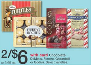 photograph relating to Ghiradelli Printable Coupons called Walgreens: Ghirardelli Squares Stand Up Bag for $1 all through