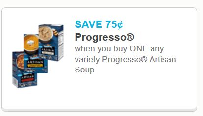 Progresso art soup