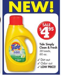 Tide clean and fresh