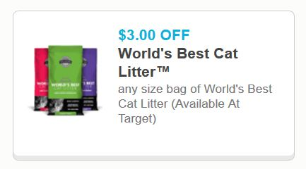 photo regarding Cat Litter Coupons Printable referred to as Worlds Ideal Cat Muddle Printable Discount codes - Printable Discount coupons