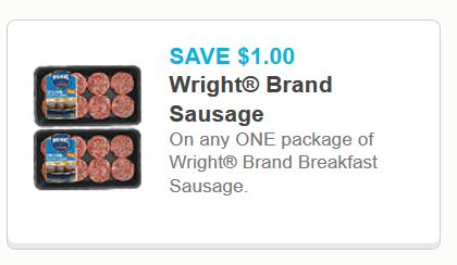 Wrights brand breakfast sausage jan