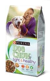 dog chow light and healthy