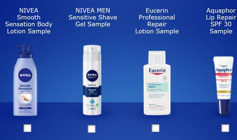 nivea free sample facebook