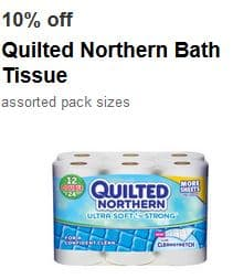 Printable Coupons And Deals Target Off Any 30 Count Quilted Northern Bath Tissue 1