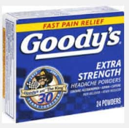 Goody's headache new