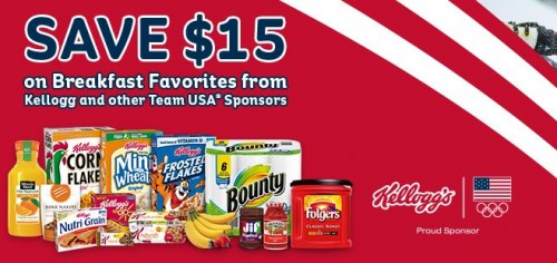 Kellogg's save $15