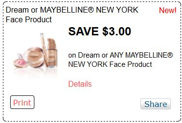Expired Maybelline Promo Codes & Coupons