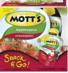 motts snack and go new