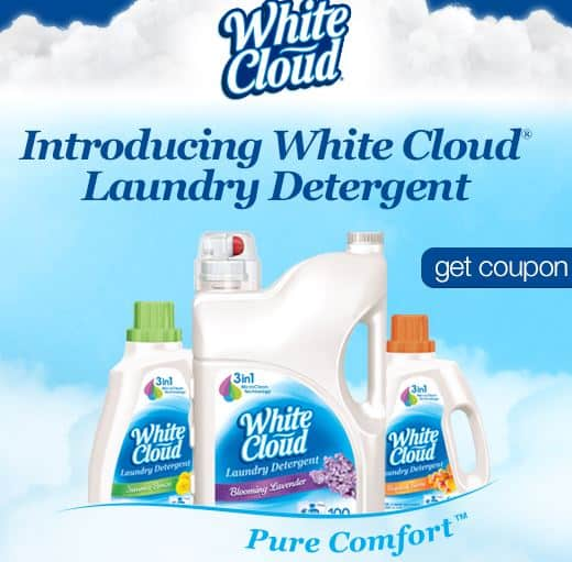 white cloud laundry det