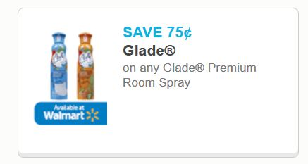 Glade room spray