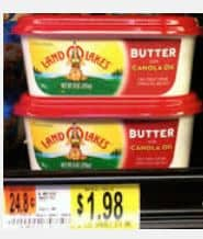 Land o lakes tub butter
