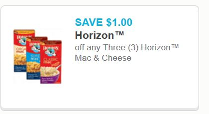 horizon mac and cheese