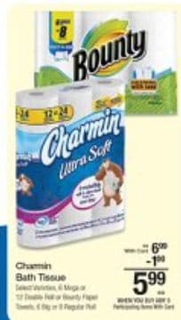 kroger bounty and charmin