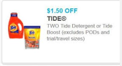 tide $1.50 off two