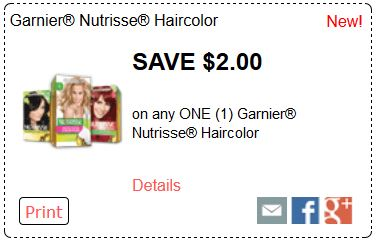 Hair color coupons december 2018