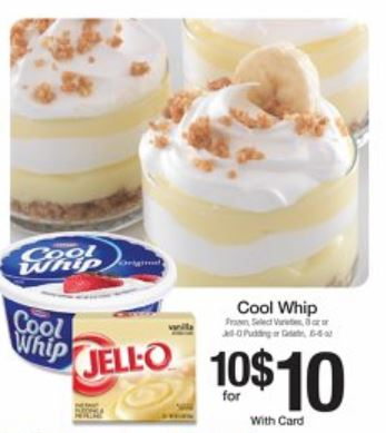 Jello and cool whip
