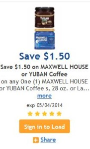 Maxell house or yuban