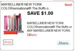 Maybelline lip