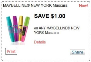 Maybelline new york mascara