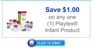Playtex infant product