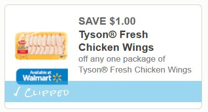 Tyson fresh chicken wings