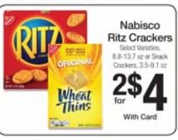nabosco ritz crackers