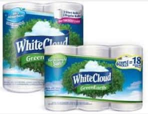 whtie cloud green earth