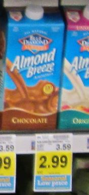 Kroger chlled almond