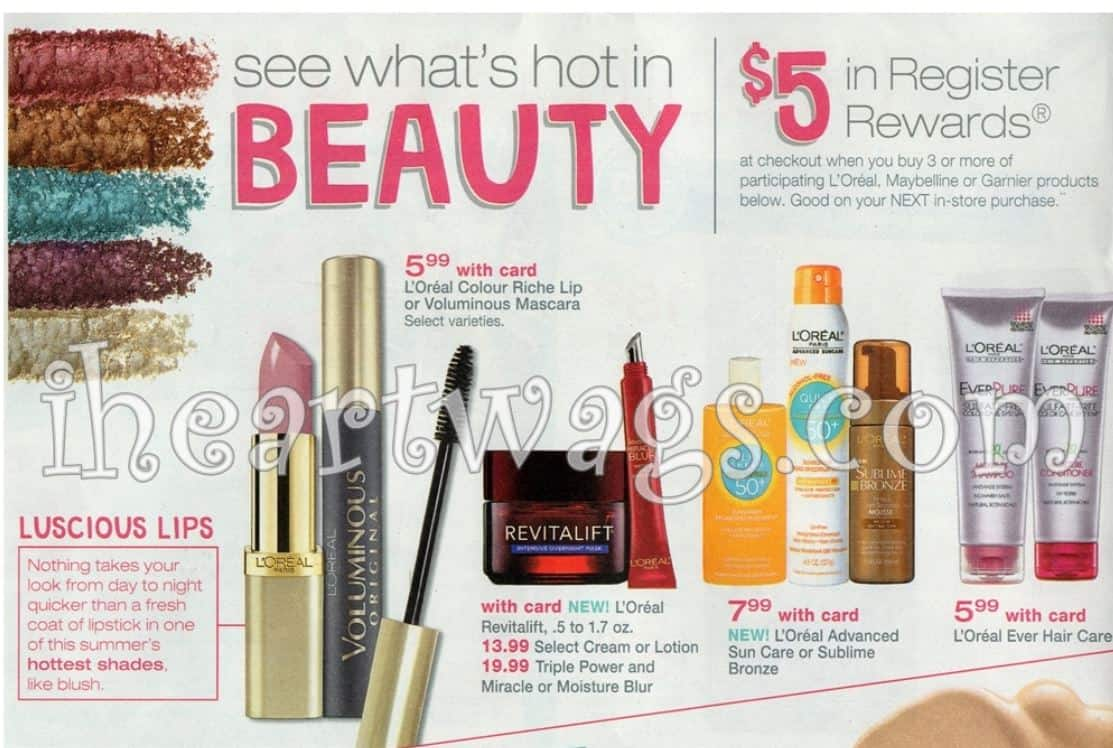 Printable Coupons and Deals – Walgreens: Loreal Color Riche Lip or ...
